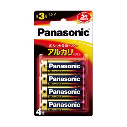 パナソニック(Panasonic) アルカリ電池3×4 LR6XJ/4B