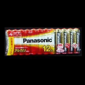 パナソニック(Panasonic) アルカリ電池 単4×12本