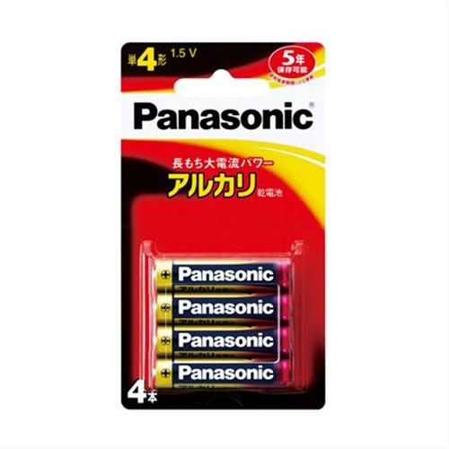 パナソニック(Panasonic) アルカリ電池4×4 LR03XJ/4B