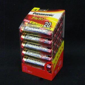 パナソニック(Panasonic) アルカリ電池 単4×20本