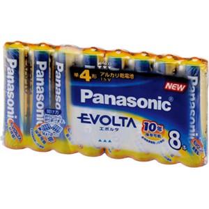 パナソニック(Panasonic) エボルタ 単4×8P (N)LR03EJ/8SW
