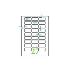 マイタックPCラベル一般無地 PC−1 318451