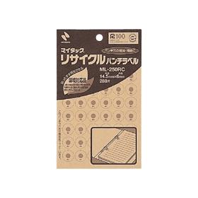 マイタック(R)リサイクルパンチラベル 288片 323047