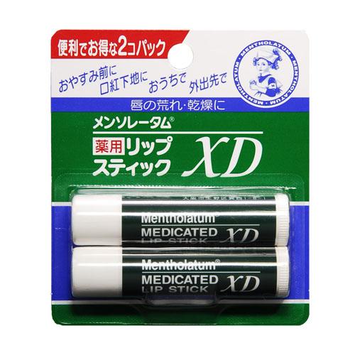 メンソレータム 薬用リップスティックXD 2個入 4.0g×2個