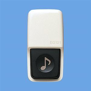 パナソニック(Panasonic) チャイム用小型押釦(小勢力用)露出用 EG121
