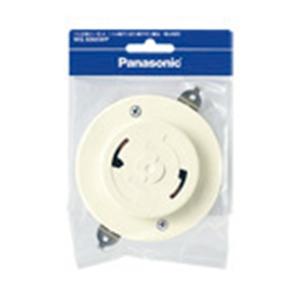 パナソニック(Panasonic) フル引掛ローゼット(ミルキーホワイト) WG6005WP