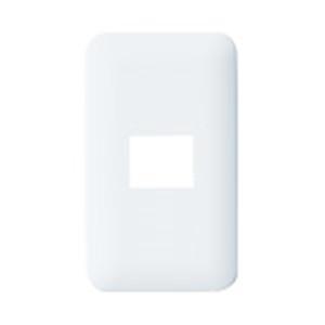 パナソニック(Panasonic) コスモシリーズワイド21 簡易耐火用コンセントプレート1個用(ホワイト) WTF7701W