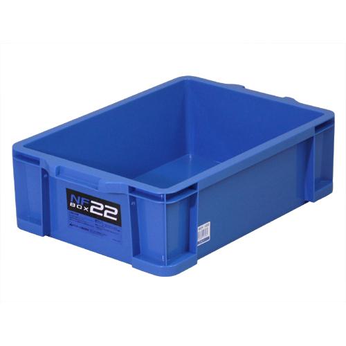 NFボックス #22 ブルー 370×536×162mm