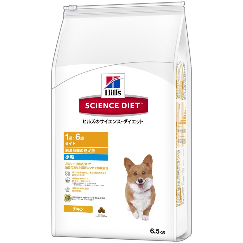 ライト小粒肥満傾向の成犬用6.5kg