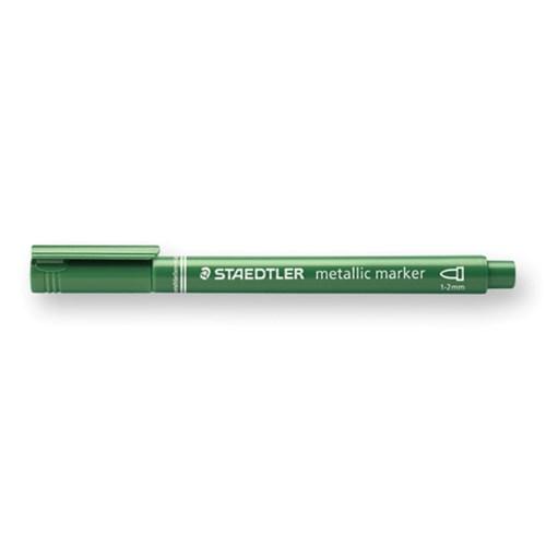 メタリックマーカーペン メタリックグリーン 8323−553