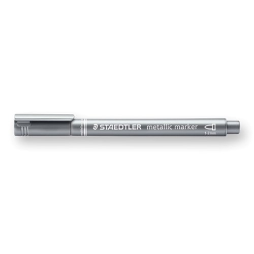 メタリックマーカーペン シルバー 8323−81