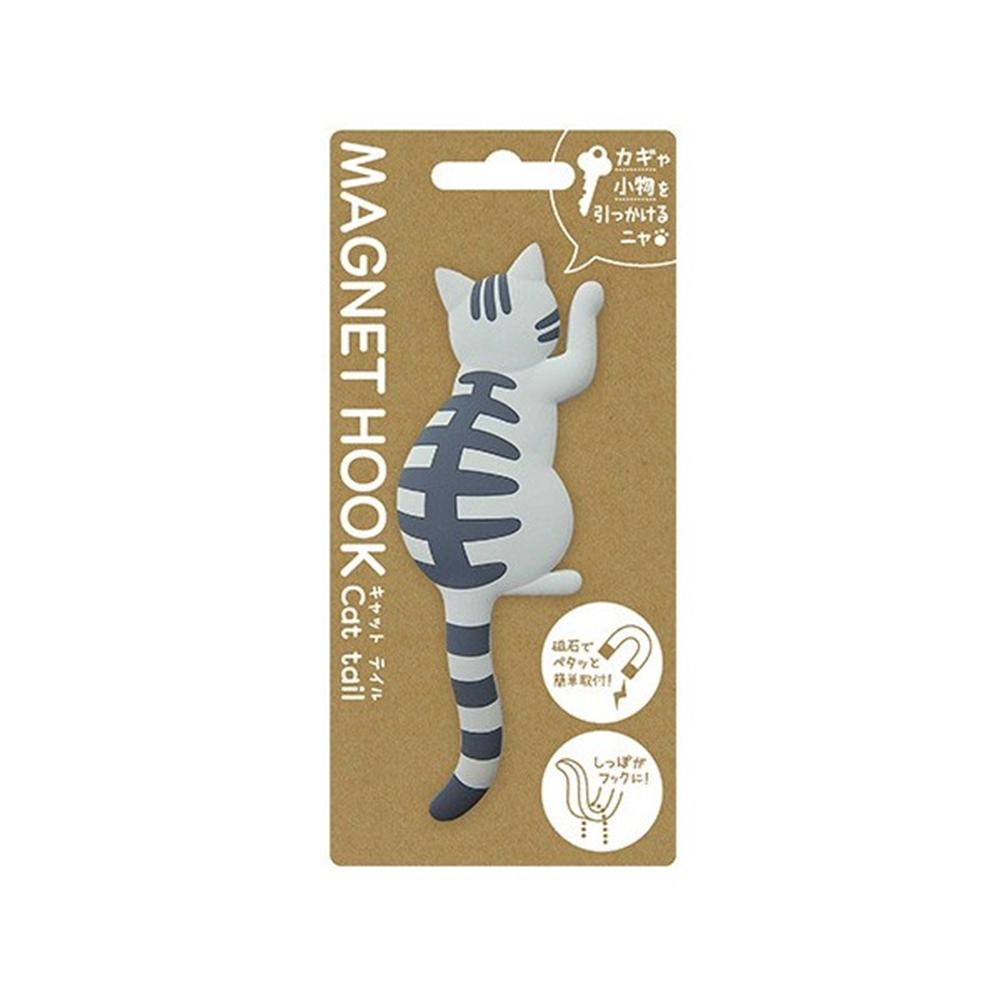 マグネットフック cat tail �Eサバトラ