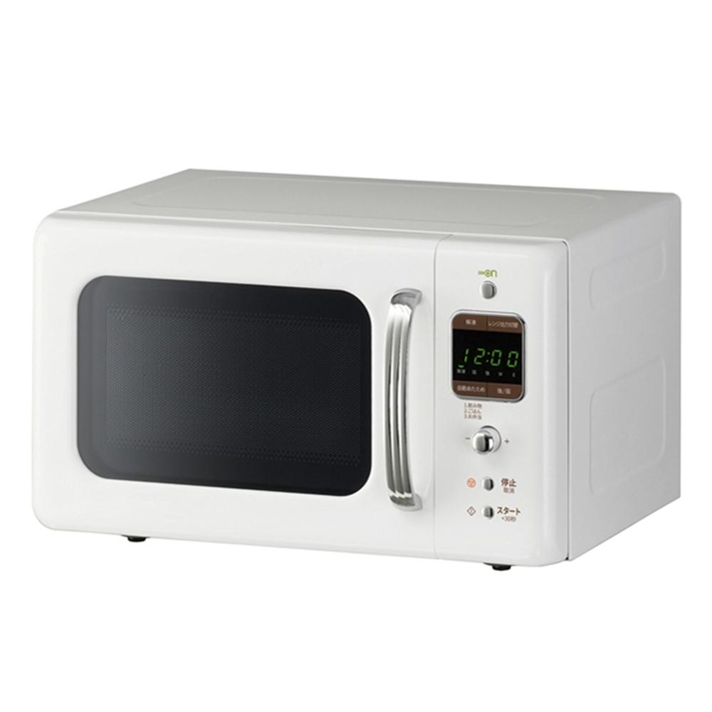 DAEWOO レトロデザイン電子レンジ ホワイト DM−E25AW 50Hz