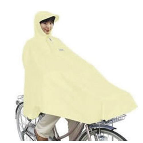自転車用ポンチョ ベージュ