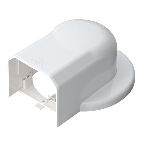 因幡電工 ウォールコーナーエアコンキャップ用 MWM75L−W