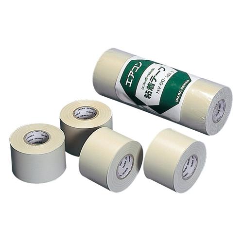 因幡電工 粘着テープ 4巻入 HV−50−I アイボリー