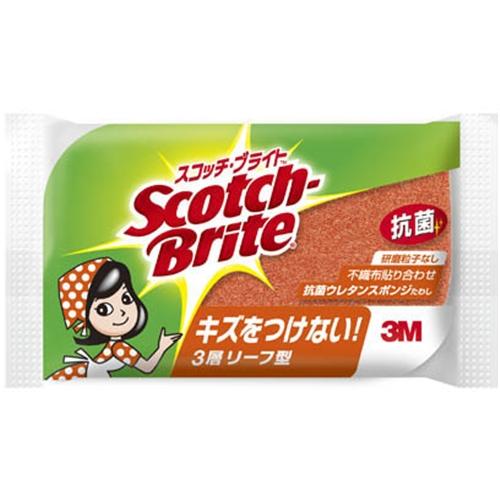 スコッチブライト 抗菌スポンジたわし SS−72KE