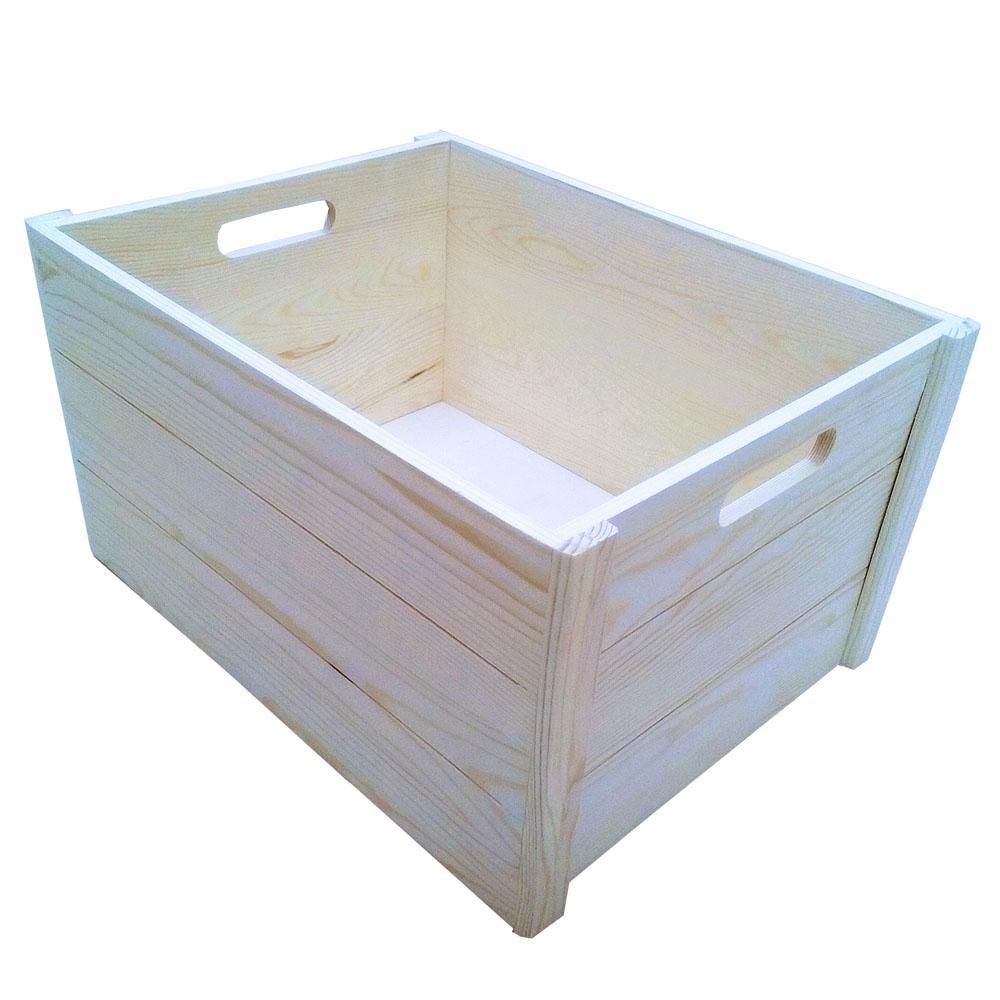 コーナン オリジナル ウッドBOX M 外寸:約W360XD280XH200mm WBS01-0074