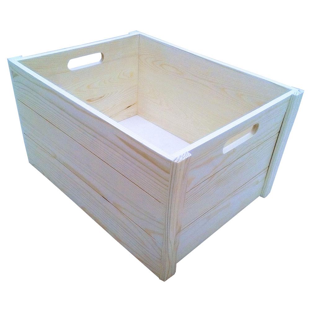 コーナン オリジナル ウッドBOX L 外寸:約W410XD310XH220mm WBS01-0081