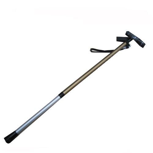 コーナン オリジナル アルミ伸縮杖 ブラウン KFJ19−2787