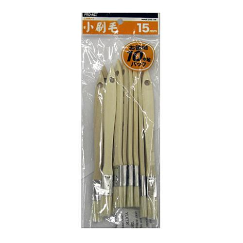 コーナン オリジナル 小刷毛10本組 15mm S−15