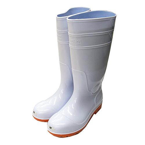 コーナン オリジナル PVC耐油長靴 白 先芯入 M KTL04−9922
