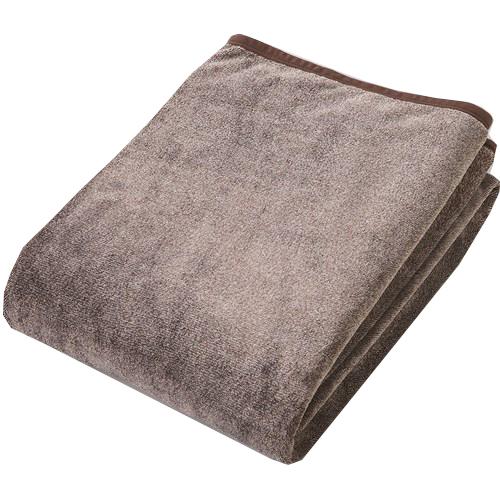 コーナン オリジナル ニューマイヤー毛布 ロアンヌ 140×200cm ブラウン