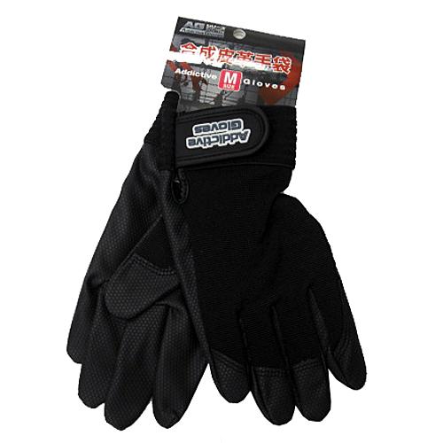 コーナン オリジナル PU革手袋黒 M KU04−2129