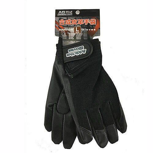 コーナン オリジナル PU革手袋 黒 L KU04−2136