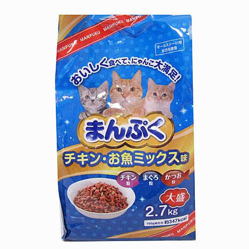 コーナン オリジナル まんぷくドライチキン お魚ミックス味 2.7kg