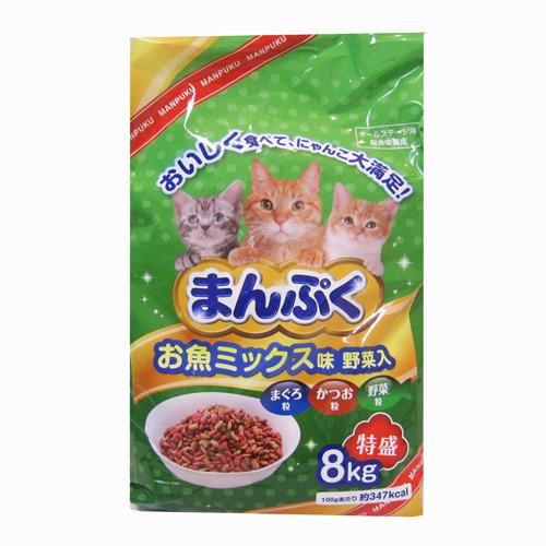 コーナン オリジナル まんぷくドライお魚 ミックス味・野菜入 8kg