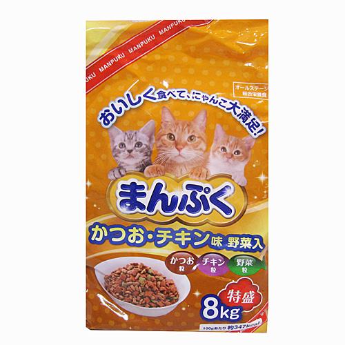 コーナン オリジナル まんぷくドライかつお チキン味・野菜入 8kg