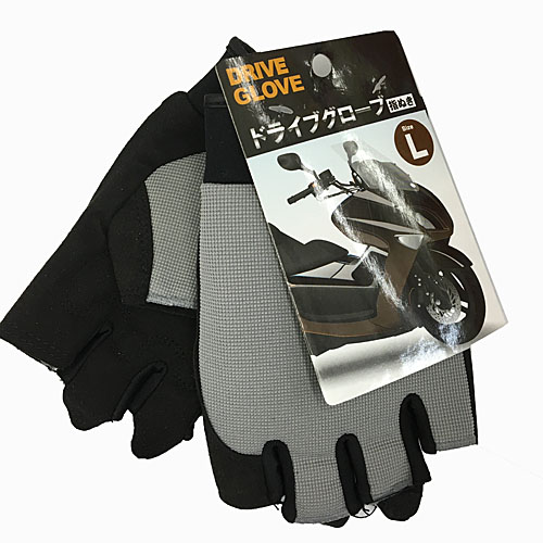 ◇ コーナン オリジナル ドライブグローブ 指ぬき HY−1201005