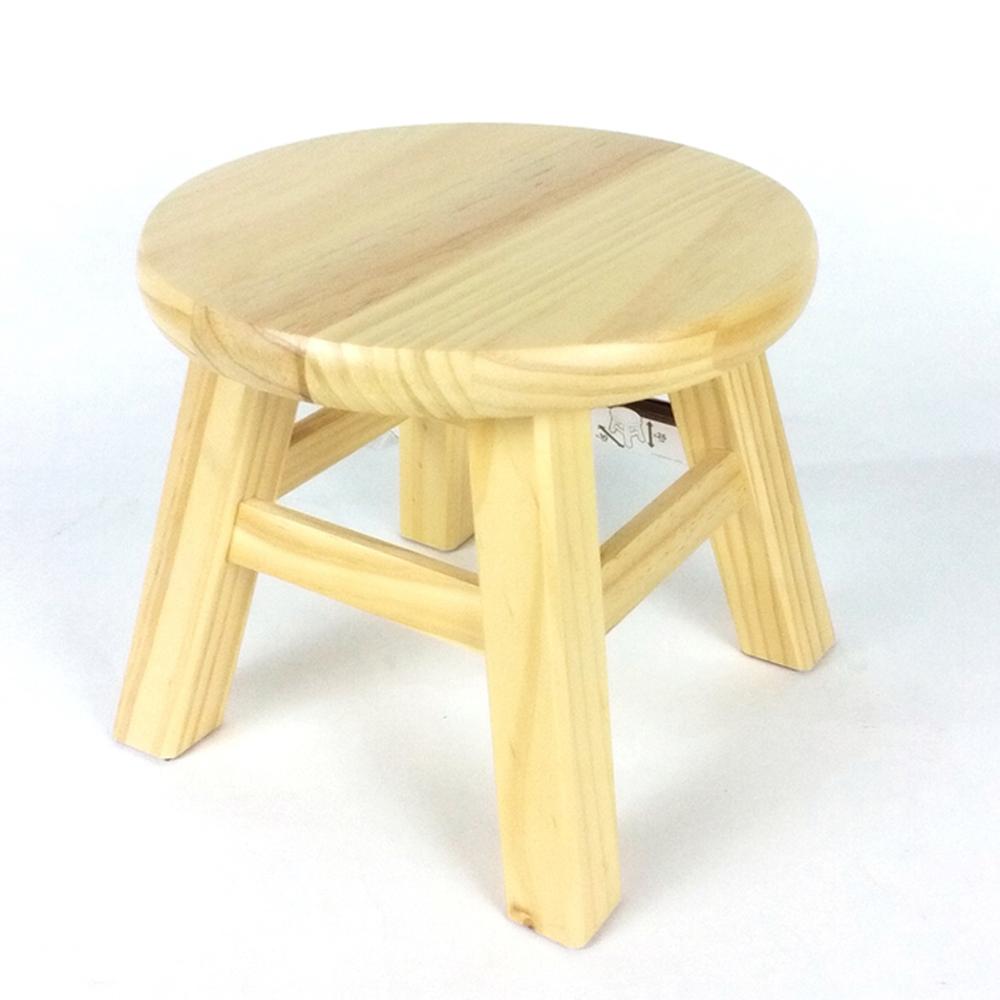 コーナン オリジナル ちょっとチェアR ナチュラル 約Φ30×高さ26cm 静耐荷重:約80kg TTC01−1060 (木製椅子)
