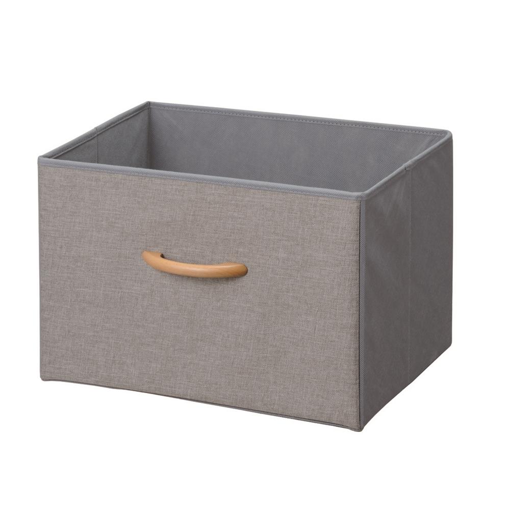 コーナン オリジナル 木製取手収納ボックス GY−KR18−7061