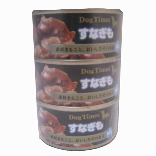 コーナン オリジナル ドッグタイムスミニ缶 すなぎも 80g×3