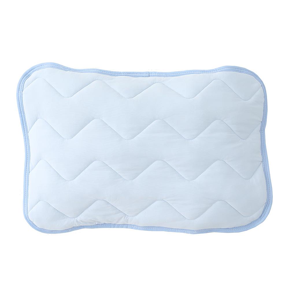 コーナン オリジナル マシュマロひんやり枕パッド 約35×50cm ブルー
