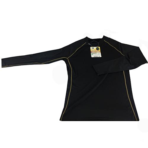 コーナン オリジナル コンプレッション長袖 シャツ ブラック L