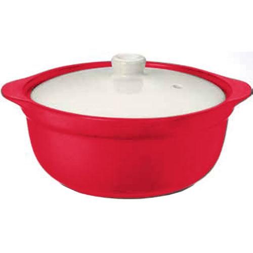 コーナン オリジナル レンジdeクック鍋 レッド KFY05−9162