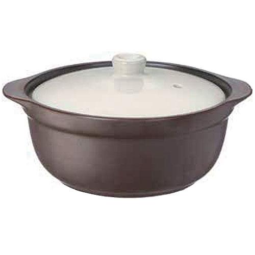 コーナン オリジナル レンジdeクック鍋 ブラウン KFY05−9179