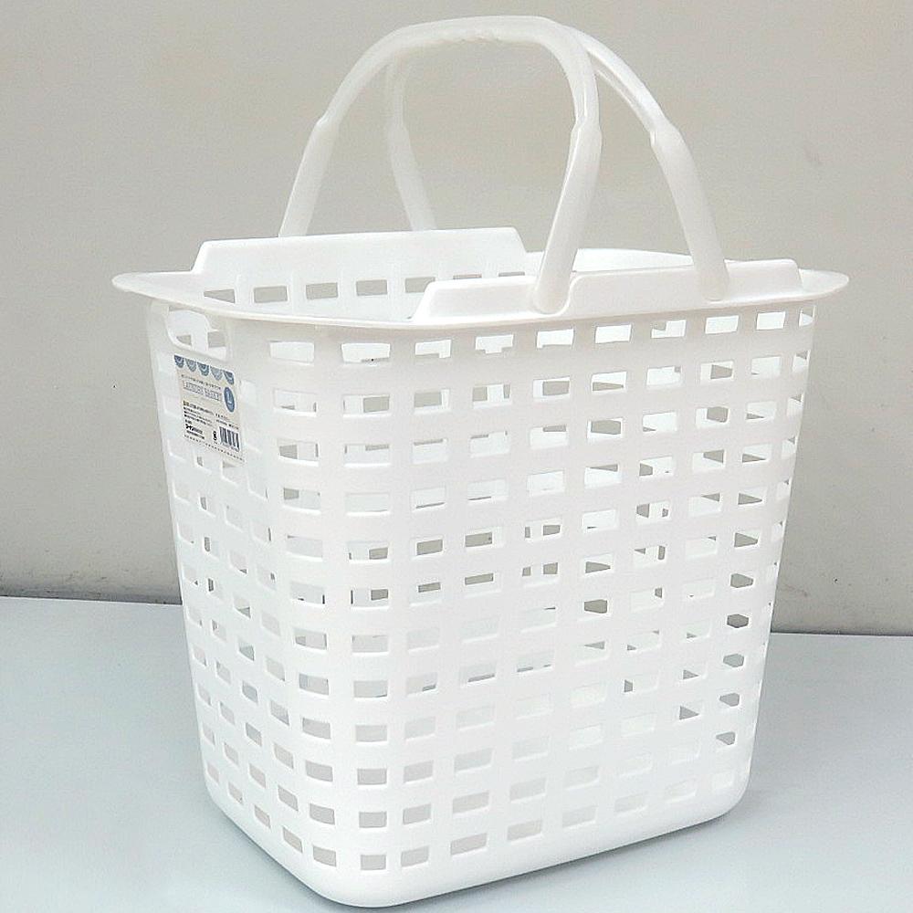コーナン オリジナル ランドリーバスケット L ホワイト
