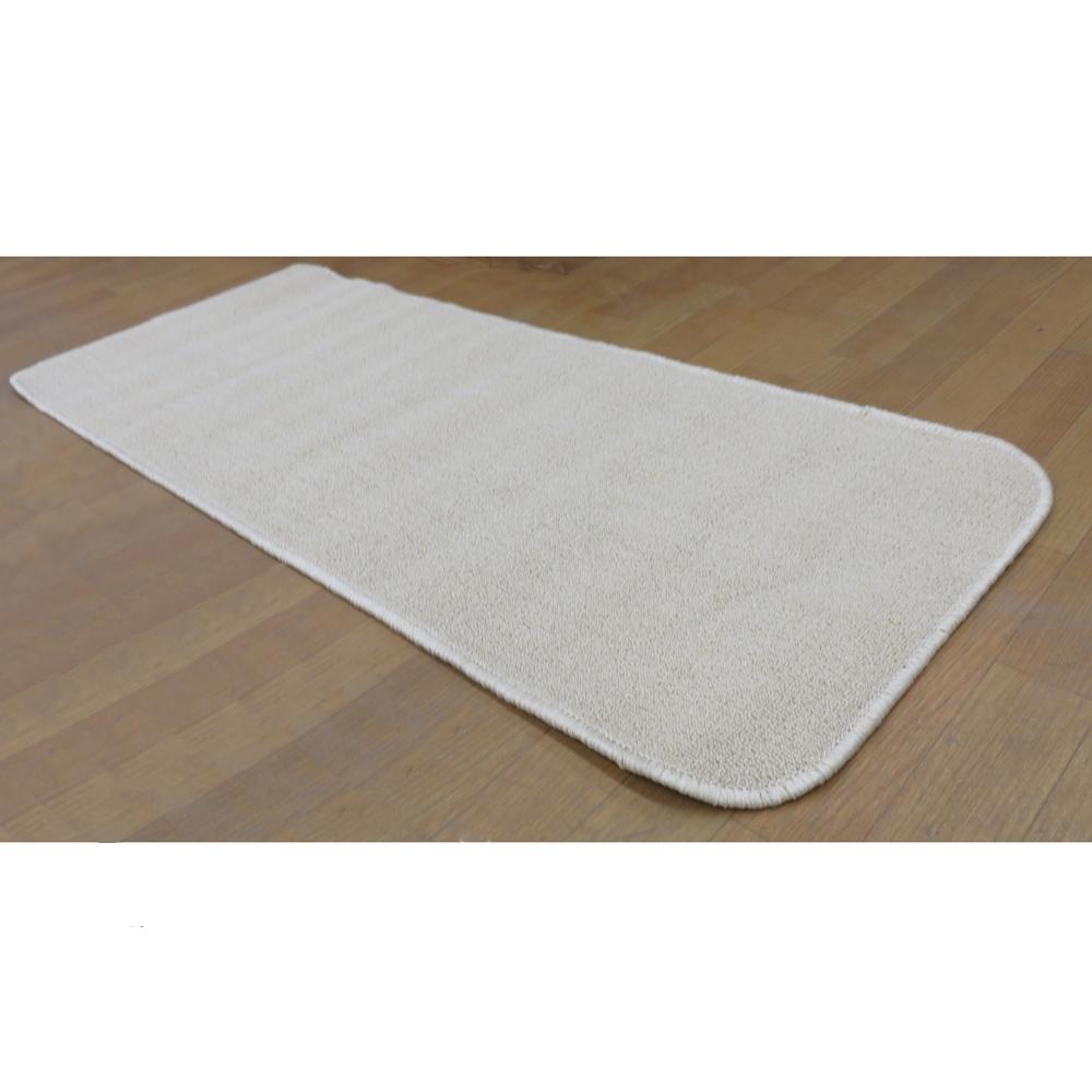コーナン オリジナル タフトカーペット 約50×120cm ベージュ