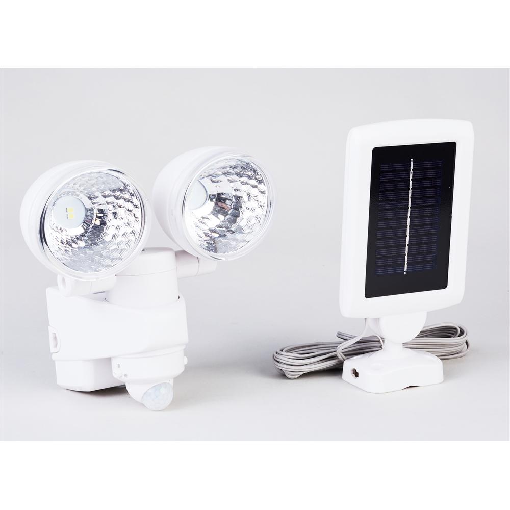 ソーラー式センサーライト2灯