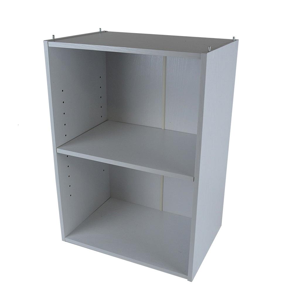 コーナン オリジナル 2段可動棚ボックスα KR18−7180−WH