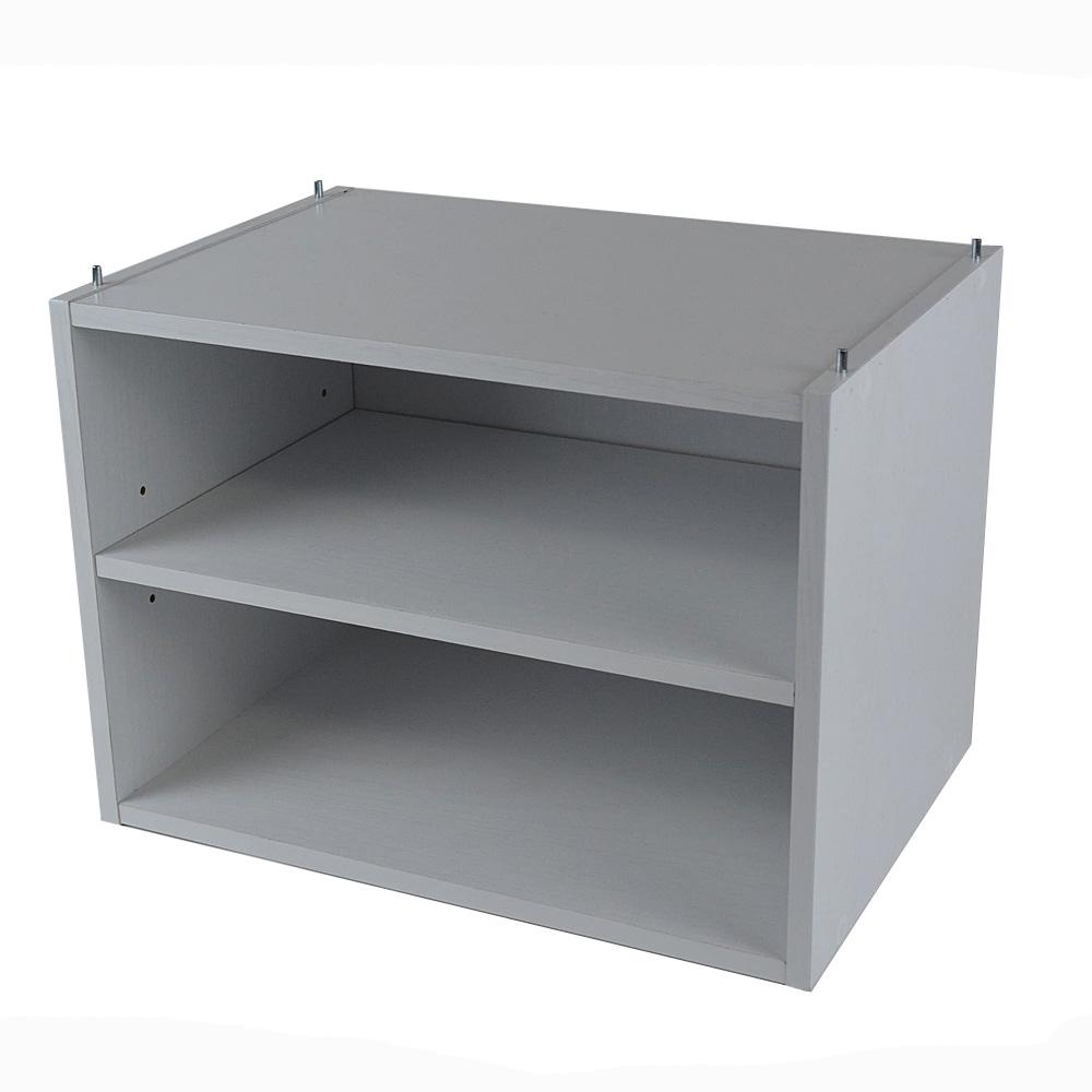 コーナン オリジナル 1段可動棚ボックスα KR18−7340−WH