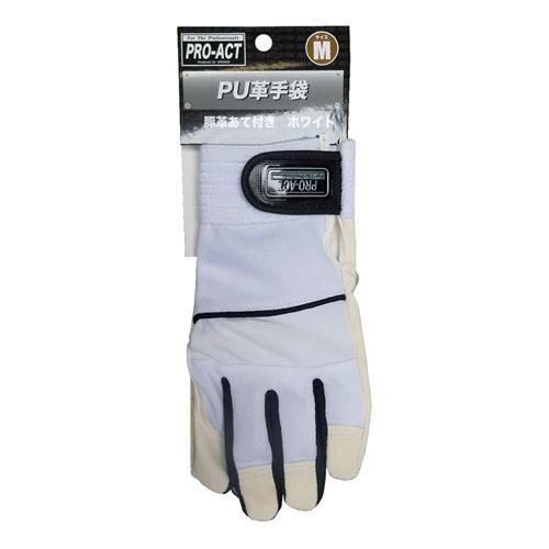 コーナン オリジナル PU革手袋 豚革あて付き M HL04−4389