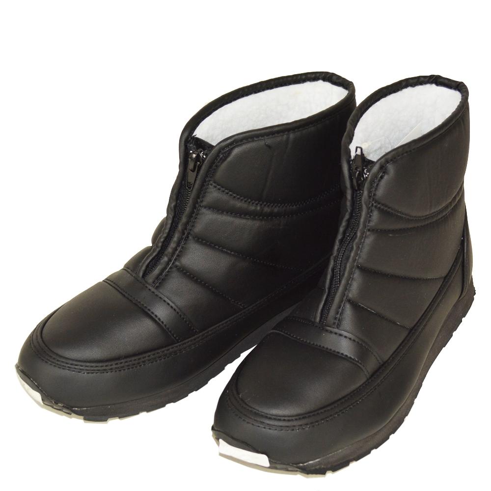 ☆ コーナン オリジナル オールボア防寒ブーツファスナー ブラック 27cm