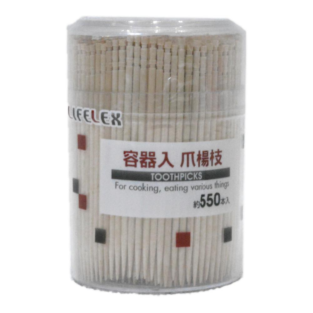 コーナン オリジナル 容器入爪楊枝 550P KHM05−8073