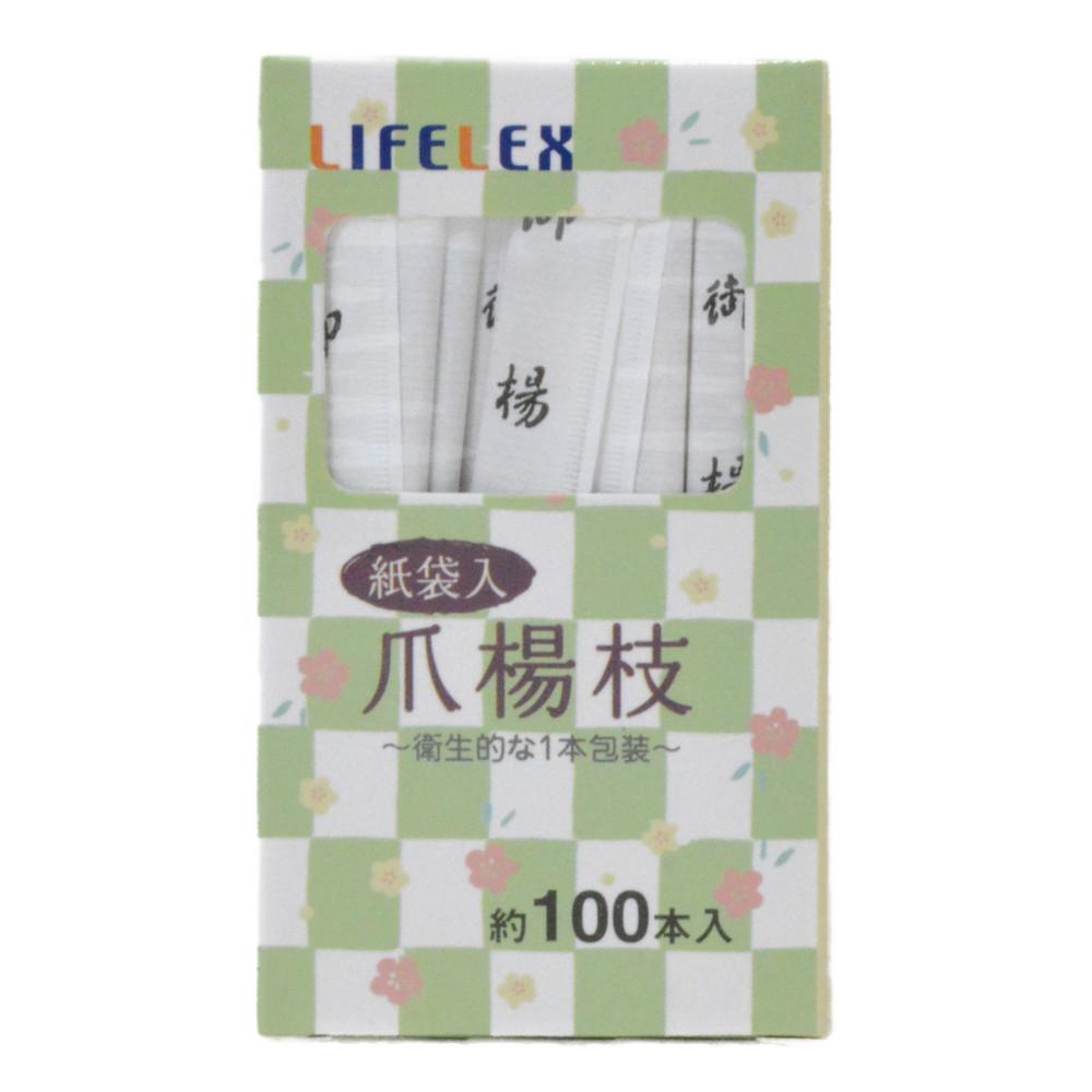 コーナン オリジナル 紙袋入爪楊枝 100P KHM05−1516