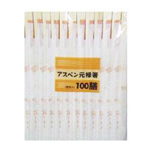 コーナン オリジナル アスペン元禄箸箸袋入 100膳 KHD05−3921